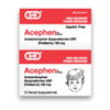 G & W Labs Pain Relief Acephen 120 mg Strength Suppository 12 per Box MON 84292700