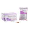 "needles: BD - Insulin Syringe with Needle Ultra-Fine® 0.3 mL 31 Gauge 5/16"" Attached Needle Without Safety, 100/BX"