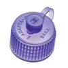 Baxter Bottle Adapter Adaptacap Blue, 100/CS MON 662038CS