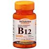 US Nutrition Vitamin B12 Sundown Naturals 6000 mcg Tablet 30 per Bottle MON 825065BT