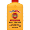 Powders Pastes Medicated Powders Pastes: Chattem - Body Powder Gold Bond 10 oz. Menthol Scent (2798940)