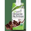 Orgain Organic Nutritional Shake, Creamy Chocolate Fudge, 11 oz. Carton Ready to Use MON 86542601