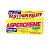 Vitamins OTC Meds Pain Relieving Rub: Chattem - Pain Relief Aspercreme 10% Strength Cream 5 oz.