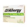 Major Pharmaceuticals Allergy Relief All Day 10 mg Strength Tablet 45 per Bottle (255549) MON 86722700