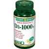 US Nutrition Vitamin D-3 Supplement Natures Bounty 1000 IU Strength Softgel 100 per Bottle MON 86992700