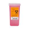 Medegen Medical Products LLC Multi-purpose Sharps Container Sharps® 1-Piece 7H X 3.5W X 3.5D 1 Quart Translucent Base Vertical Entry Lid MON 87022800