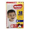 Kimberly Clark Professional Huggies Snug & Dry® Diapers (40674), Size 6, (84/CS MON 87453100
