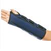 DJO Wrist / Forearm Splint Cinch-Lock® Nylon / Flannelette Left Hand Navy Blue One Size Fits Most MON 87803000