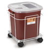 Medical Action Industries Sharps Cart For A 8 Gallon And 16 Gallon MON87902800