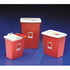 Medtronic SharpSafety™ Sharps Container Gasketed Slide Lid, Red 8 Gallon MON 87972800