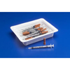 "needles: Covidien - Allergy Tray Monoject® 0.5 mL 28 Gauge 1/2"" Attached Needle Without Safety, 25 EA/TR"
