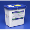 Exam & Diagnostic: Medtronic - SharpSafety™ Pharmaceutical Waste Container, Gasketed Hinged Lid, 2 Gallon