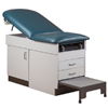 Clinton Industries Family Practice Table with Step Stool 400 lbs. MON 1060830EA