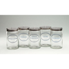 "Pharmaceutical Accessories Evacuation Containers: McKesson - Sundry Jars Medi-Pak 4-1/4"" x 7"" Glass Clear"