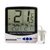 McKesson Refrigerator / Freezer Thermometer Fahrenheit / Celsius -58 to +158 F (-50 to +70 C) Internal Sensor / External Probe Desk / Wall / Door Mount Battery Operated, 1/ EA MON 1074440EA