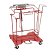 utility carts, trucks and ladders: Medtronic - SharpsCart Sharps Collector Cart Foot Operated Cart Metal