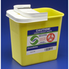 Needles Syringes General Purpose Syringes: Medtronic - SharpSafety™ Chemotherapy Container Hinged Lid, Yellow 2 Gallon