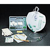 Urological Catheters: Bard Medical - Indwelling Catheter Tray Bard Lubricath Foley 18 Fr. 5 cc Balloon Hydrogel Coated Latex