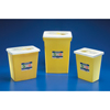 Needles Syringes Tuberculin Syringes: Medtronic - SharpSafety™ Chemotherapy Container, Slide Lid, Yellow, 8 Gallon