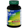 McKesson Omega 3 Supplement sunmark Fish Oil 1000 mg Strength Softgel 100 per Bottle, 1 Bottle MON 1110953BT