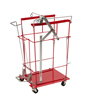 "utility carts, trucks and ladders: Medtronic - Sharps Cart SharpsCart Metal 15-1/4"" x 22-3/4"" x 31"" 1 Shelf Red"