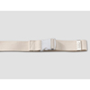 Transfer Aids Safety Transfer Belts: Posey - Gait Belt Up to 72 Inch White Sturdy Cotton