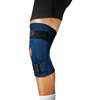 Scott Specialties Knee Support Small Pull-On / Hook and Loop Strap Left or Right Knee (9074 NAV S) MON 90743000