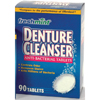 Oral Care Denture Cleanser: New World Imports - Denture Cleaner Freshmint Tablet