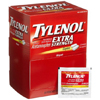 first aid medicine and pain relief: Johnson & Johnson - Tylenol® 500 mg Strength Pain Relief Caplets, 2/PK, 50 PK/CT