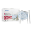 Masks Surgical Procedural Masks: McKesson - Surgical Mask Pleated Ties One Size Fits Most, 50EA/BX