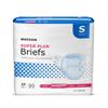 McKesson Super Plus Moderate Absorbency Briefs, Small, 96/CS MON 91453100