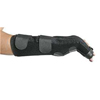 Alimed Boxer Fracture Brace EZY Wrap® Neoprene Right Hand Black X-Large / 2X-Large MON 91843000