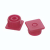 needles: B. Braun - Syringe Cap Multi-AD® Red, Luer Lock, 10PK, 50PK/CS