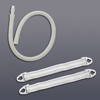 Drainage: Hollister - Connector Tubing 18 Inch 11/32 Inch Sterile, 10EA/BX