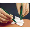 Molnlycke Healthcare Impregnated Dressing Mesalt® 8 x 8 / 4 x 4 Folded Viscose / Polyester Sodium Chloride Sterile, 30/BX MON 95982130