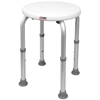 Apex-Carex Shower Stool Carex Without Arms Aluminum Without Backrest 15-1/2 to 20-1/2 MON 96523300