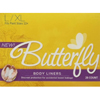 incontinence liners and incontinence pads: Attends - Butterfly® Female Incontinence Body Liners, L/XL, 28 EA/BX