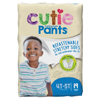 First Quality Youth Training Pants Cutie Pants Pull On 4T-5T Disposable Heavy Absorbency MON 97073100
