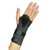 DJO Wrist Splint PROCARE® Elastic Left or Right Hand Black Large MON 97173000