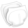 """incontinence aids: Medtronic - Wings™ Contoured Insert Pads 26"""" x 14"""", 80/CS"""