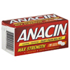 Emerson Healthcare Pain Relief Anacin 500 mg / 32 mg Strength Tablet 75 per Bottle (2737872) MON 97552700