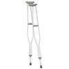 canes & crutches: Apex-Carex - Underarm Crutch Push Button Aluminum Adult 250 lbs.