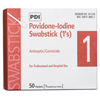 "Surgical Instruments Devices Cotton Dacron Swabs: Professional Disposables - Swabstick PDI Cotton Tip Wood Shaft 4"", 50EA/BX"