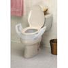 Maddak Raised Toilet Seat with Arms 3-1/2 300lbs. MON 98243500