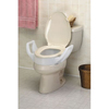 Maddak Raised Toilet Seat with Arms Bath Safe 4 Brown 300lbs. MON 98253500
