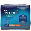 First Quality Prevail® Per-Fit® Men Underwear, Moderate Absorbency, XL, (58 to 68), 14/BG, 4BG/CS MON 98913100