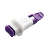 Lancets: Arkray - Safety Lancet Assure® Lance Plus Fixed Depth Lancet Needle 0.7 mm Depth 30 Gauge Push Button, 100/BX