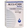 Glucose: Roche - Accu-Chek Aviva Control Solution (4528638001), 1/ EA, 6 EA/CS