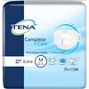 SCA TENA® Complete+Care™ Incontinent Brief, Moderate, Medium, 80/CS MON 99613120