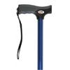 "Ring Panel Link Filters Economy: Apex-Carex - Soft Grip® Aluminum Offset Cane, 31-40"", Metallic Blue, 2EA/CS"